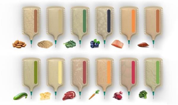پرینت سه بعدی و طبخ هم زمان مواد غذایی