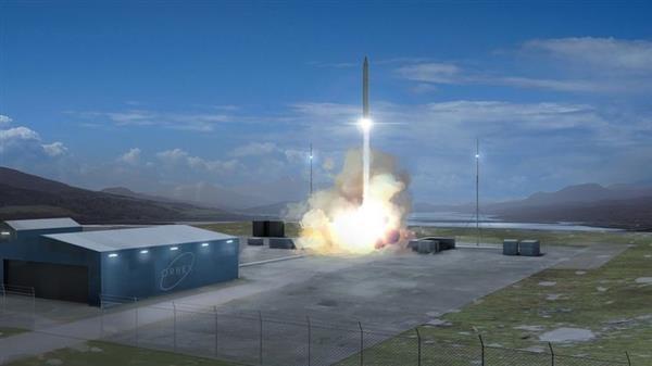 موشک با موتور پرینت سه بعدی شده