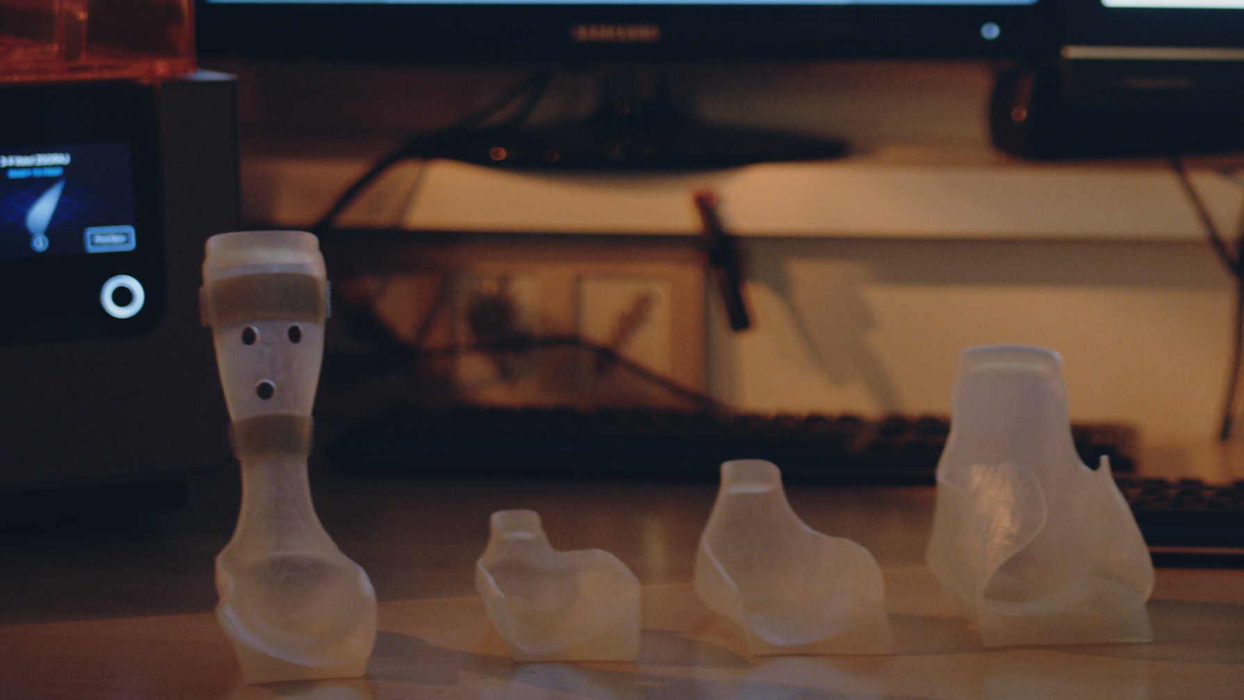 پروژه پرینت سه بعدی پروتز مچ پا Animake