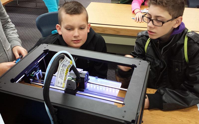 پرینت سه بعدی در مدارس