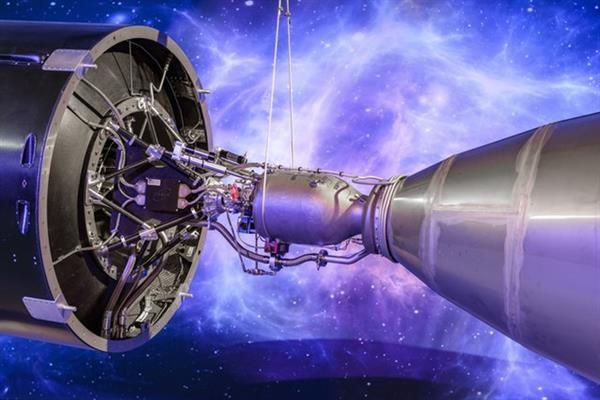 پرینت ۳ بعدی موتور فضاپیما