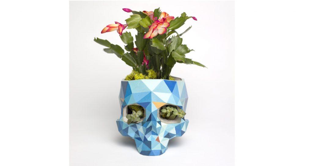 پرینت سه بعدی گلدان های خاص و منحصر بفرد