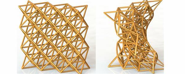 چاپ سه بعدی مواد هوشمند با قابلیت تغییر شکل