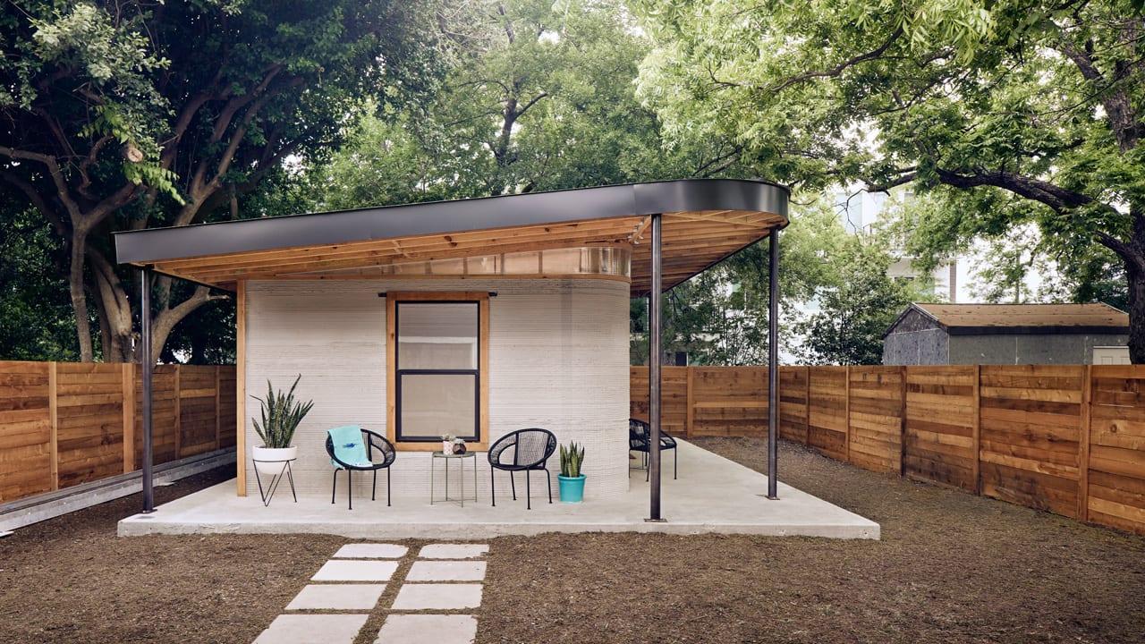 خانه چاپ سه بعدی شده