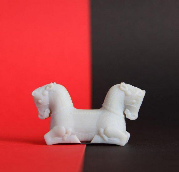 پرینت سه بعدی اسب تخت جمشید