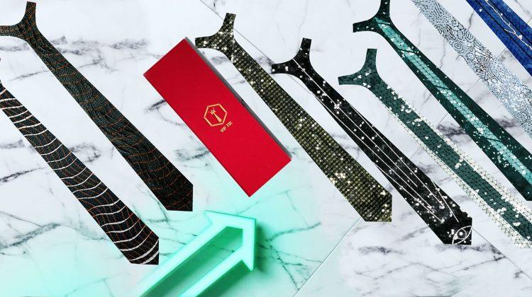 پرینت سه بعدی انواع کراوات های لوکس