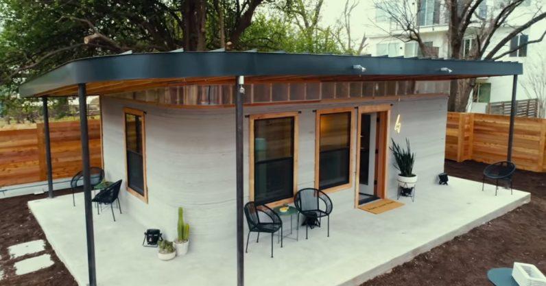 پرینت سه بعدی خانه برای بی خانمان های آمریکا