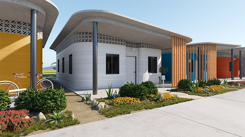 پرینت سه بعدی خانه های ارزان قیمت برای افراد بی خانمان