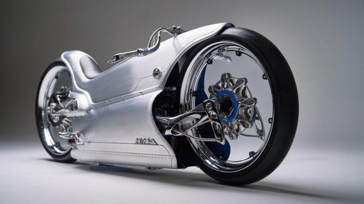 پرینت سه بعدی قطعات فلزی موتورسیکلت