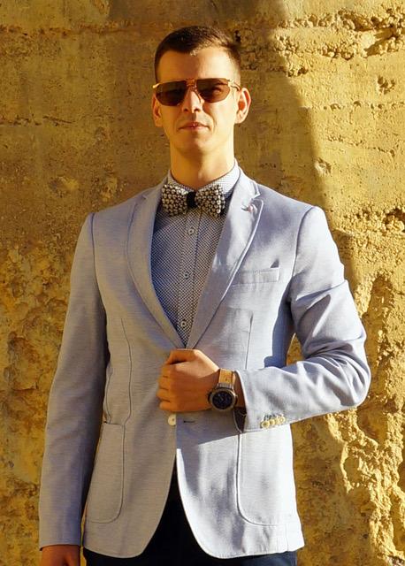 پرینت سه بعدی کراوات های لوکس