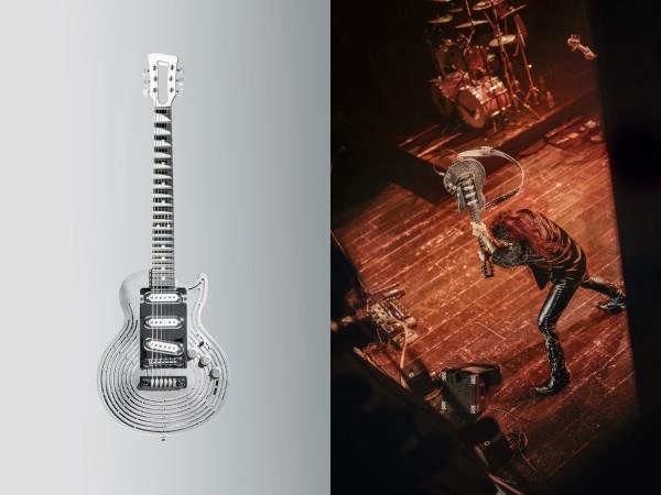 پرینت سه بعدی گیتار ضد ضربه