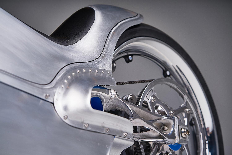 چاپ سه بعدی قطعات فلزی موتورسیکلت