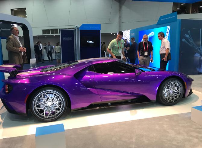 پرینت سه بعدی چرخ خودرو
