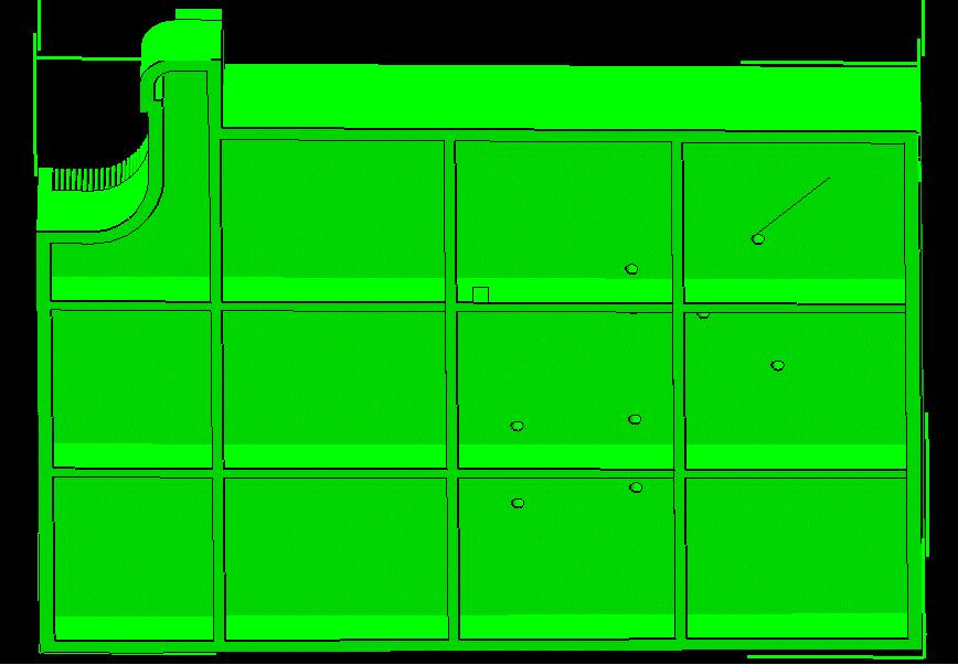 ایجاد حفره های فرار در فایل سه بعدی ماکت