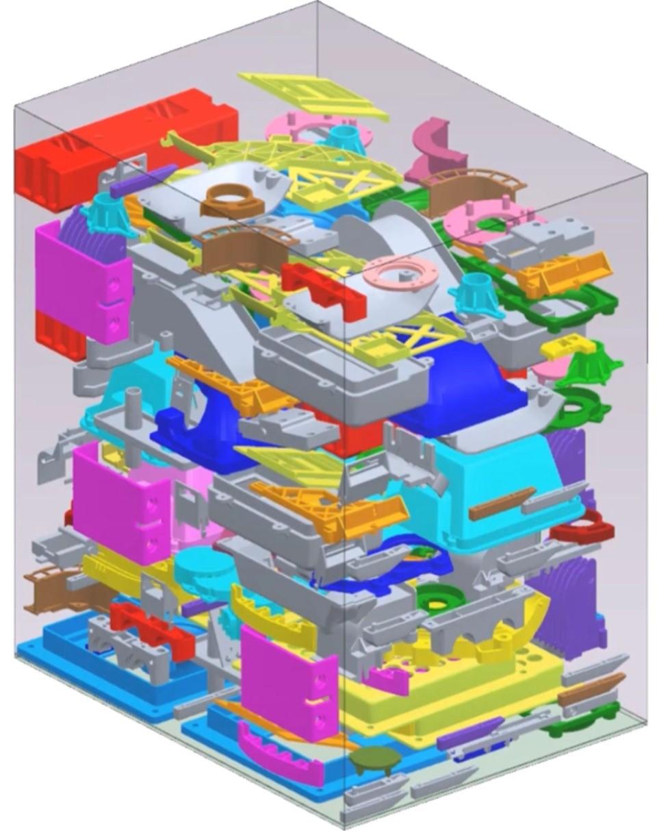 جهت دهی و چینش قطعات در پرینتر سه بعدی