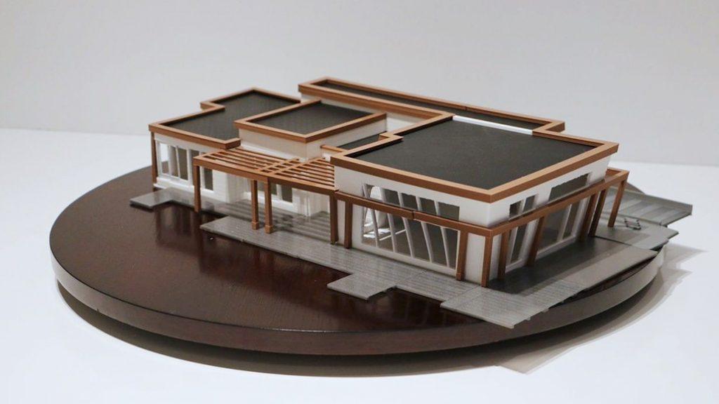 ساخت ماکت های معماری با استفاده از پرینت سه بعدی