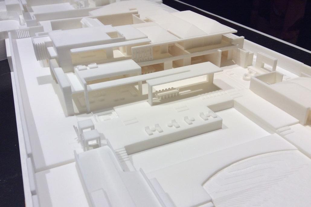 ساخت ماکت های معماری با پرینتر سه بعدی