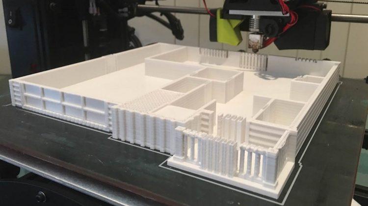 پرینت سه بعدی ماکت معماری در خانه