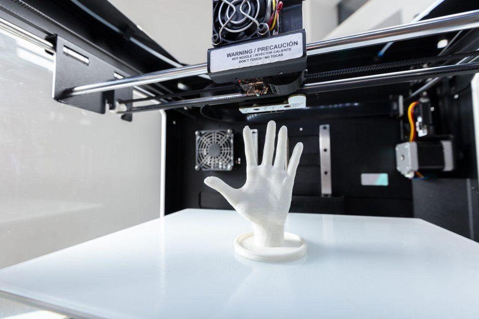 پرینت سه بعدی و توصرف کننده