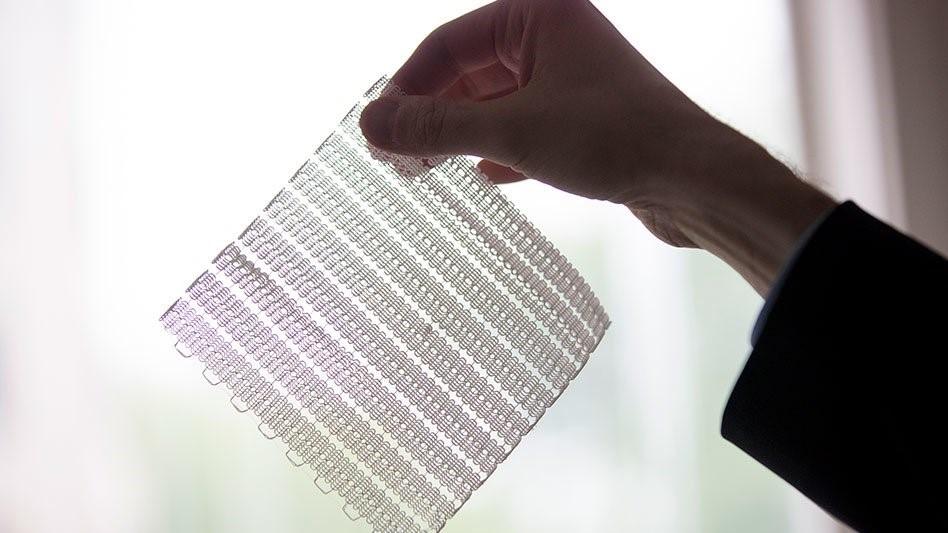 پرینت ۳ بعدی ساختار های مشبک انعطاف پذیر