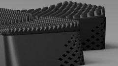 چاپ سه بعدی ساختار های مشبک انعطاف پذیر