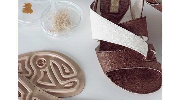 ساخت کفش های پرینت سه بعدی شده ارگانیک با قابلیت بازیافت