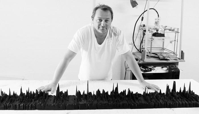 کاربرد چاپ سه بعدی در هنر