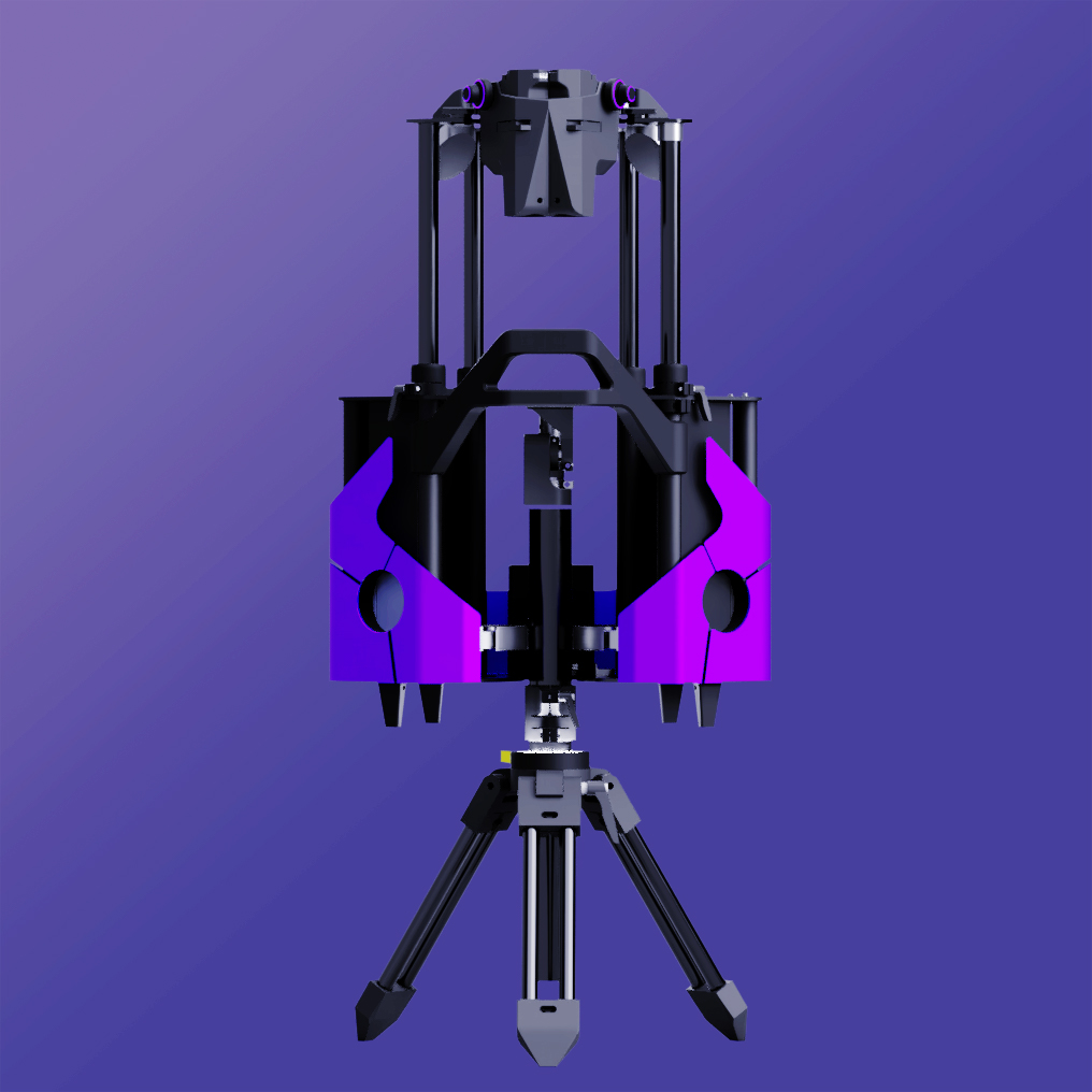 تلسکوپ پرینت سه بعدی