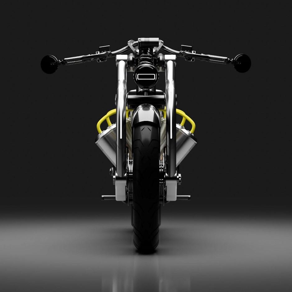 تلفیق تکنولوژی های CNC و چاپ سه بعدی در ساخت موتورسیکلت