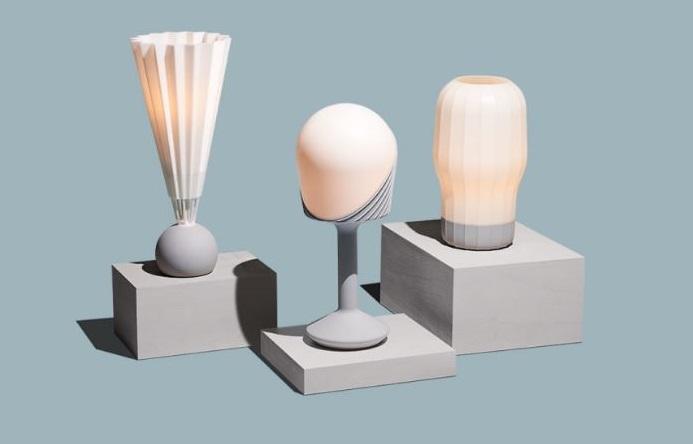 تولید چراغ های رومیزی با پرینت سه بعدی