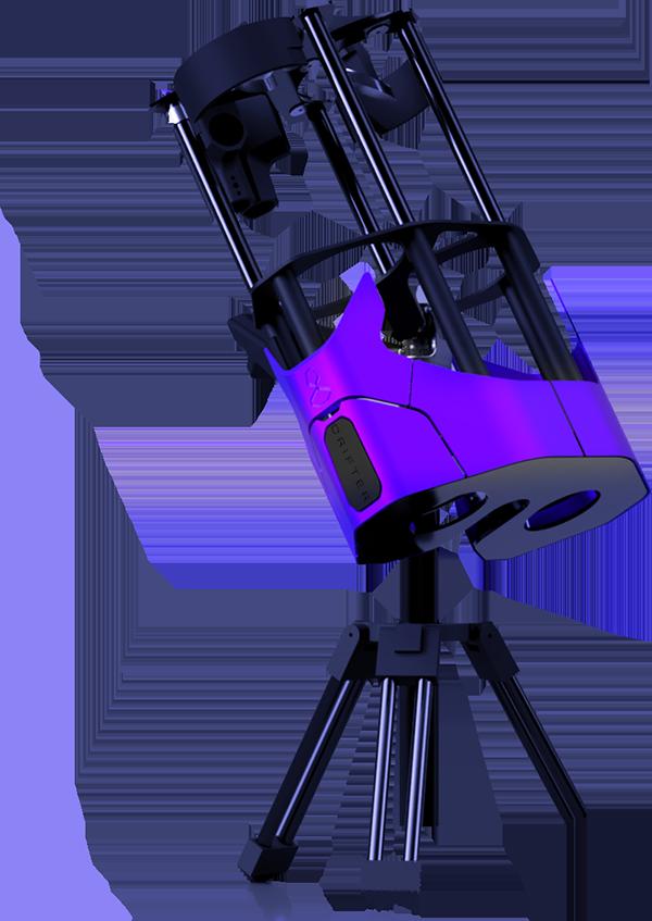 ساخت تلسکوپ سفارشی با تکنولوژِی پرینت سه بعدی