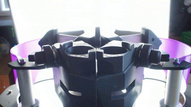 ساخت تلسکوپ سفارشی با تکنولوژِی چاپ سه بعدی