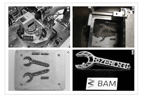 پرینت سه بعدی فلز در فضا