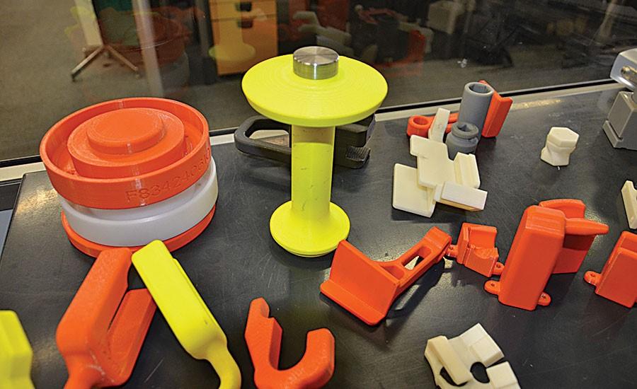 پرینت سه بعدی قطعات خودرو شرکت خودروسازی Volvo