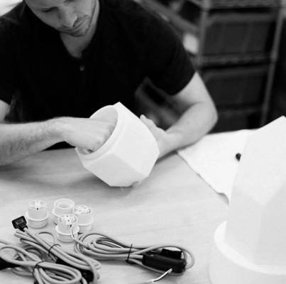 پرینت سه بعدی لامپ های رومیزی
