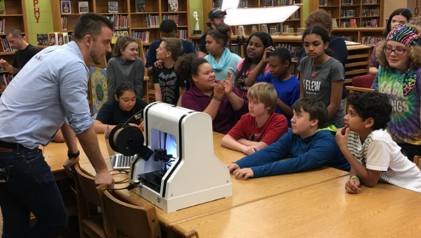 استفاده از پرینترهای سه بعدی در آموزش STEM