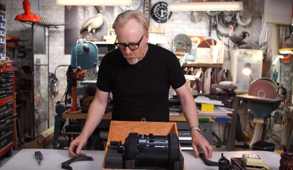 مونتاژ ماشین حساب Curta با پرینت سه بعدی