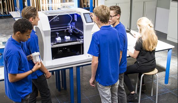 چاپگر سه بعدی در مدارس