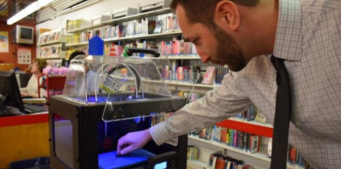 چاپ سه بعدی در کتابخانه ها