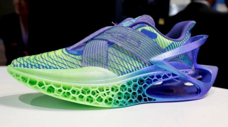 چاپ سه بعدی کفش های ورزشی با قابلیت بازیافت