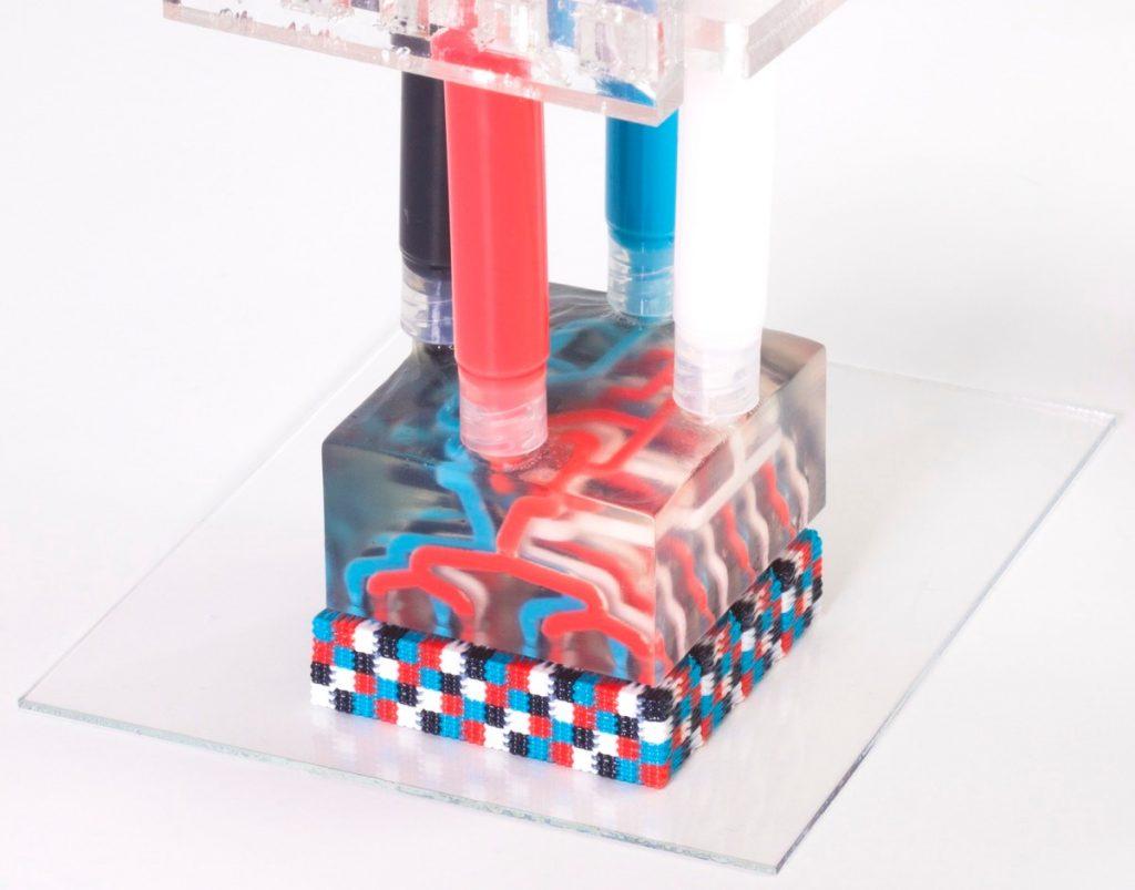 پرینت سه بعدی چند ماده ای چند نازله