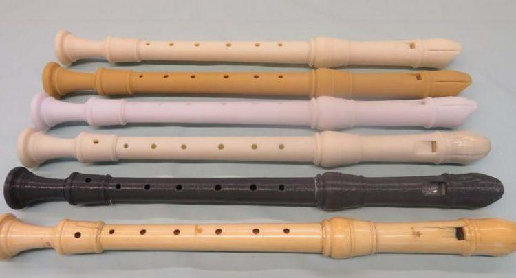 پرینت سه بعدی آلات موسیقی قدیمی