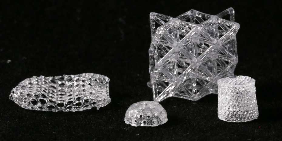 چاپ سه بعدی قطعات شیشه ای