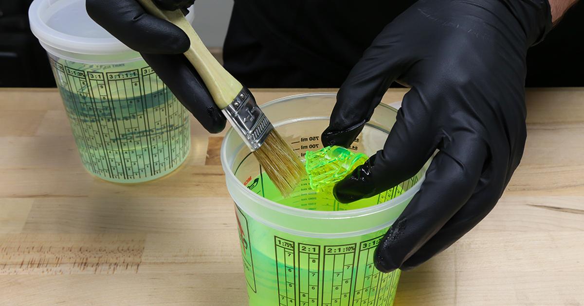 عملیات پس پردازش تکنولوژی های پرینت سه بعدی مبتنی بر رزین