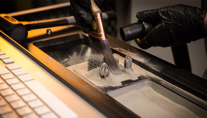 عملیات پس پردازش قطعات فلزی