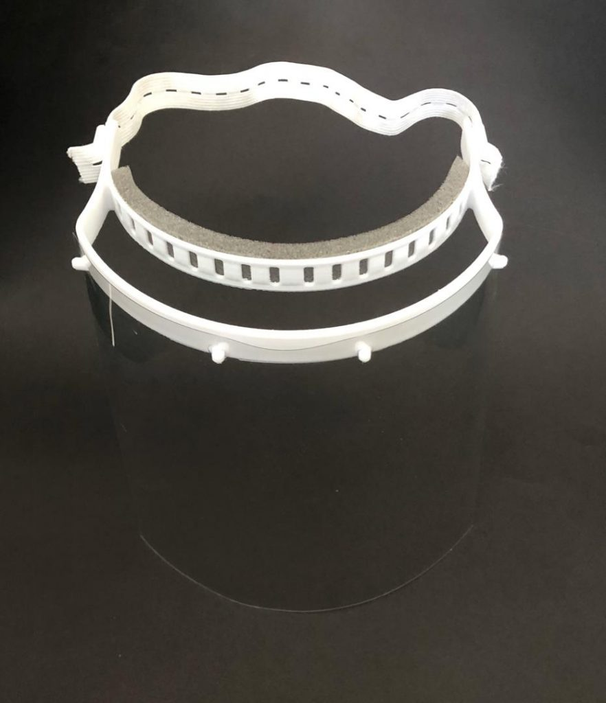 پرینت سه بعدی شیلد های محافظ صورت پزشکی جهت مبارزه با ویروس کرونا در ایران