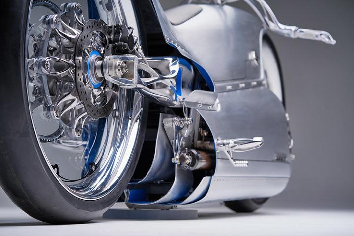 موتورسیکلت پرینت سه بعدی شده شرکت Fuller Moto