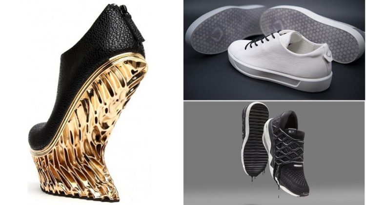 پرینت سه بعدی انواع کفش