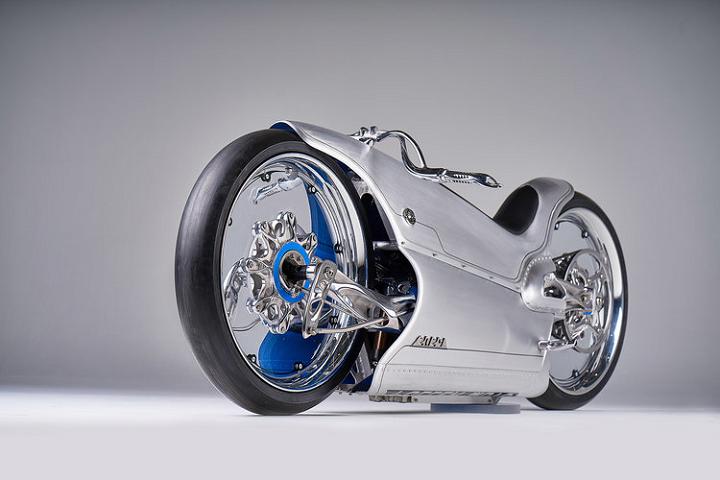 پرینت سه بعدی یک موتورسیکلت مدرن