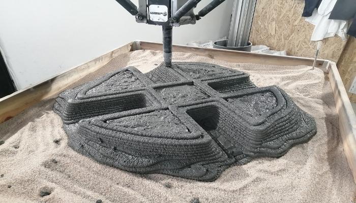 فرایند پرینت سه بعدی صخره های مصنوعی